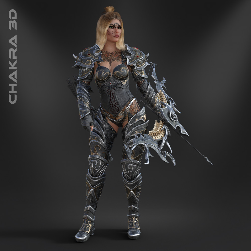 3D-Game-Character-Unreal-Unity