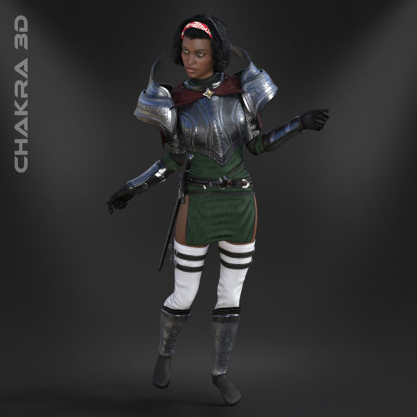 Ainarah Bundle Realistic Character for Unity