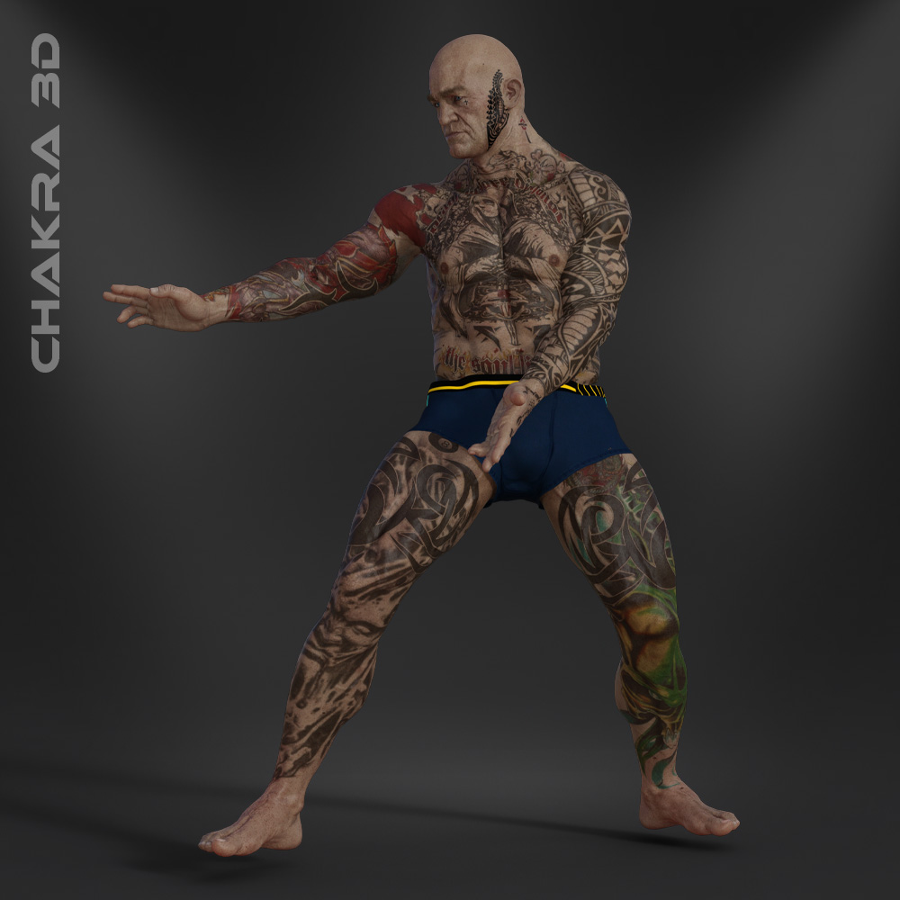 Baalcefon - Realistic Character For Unity