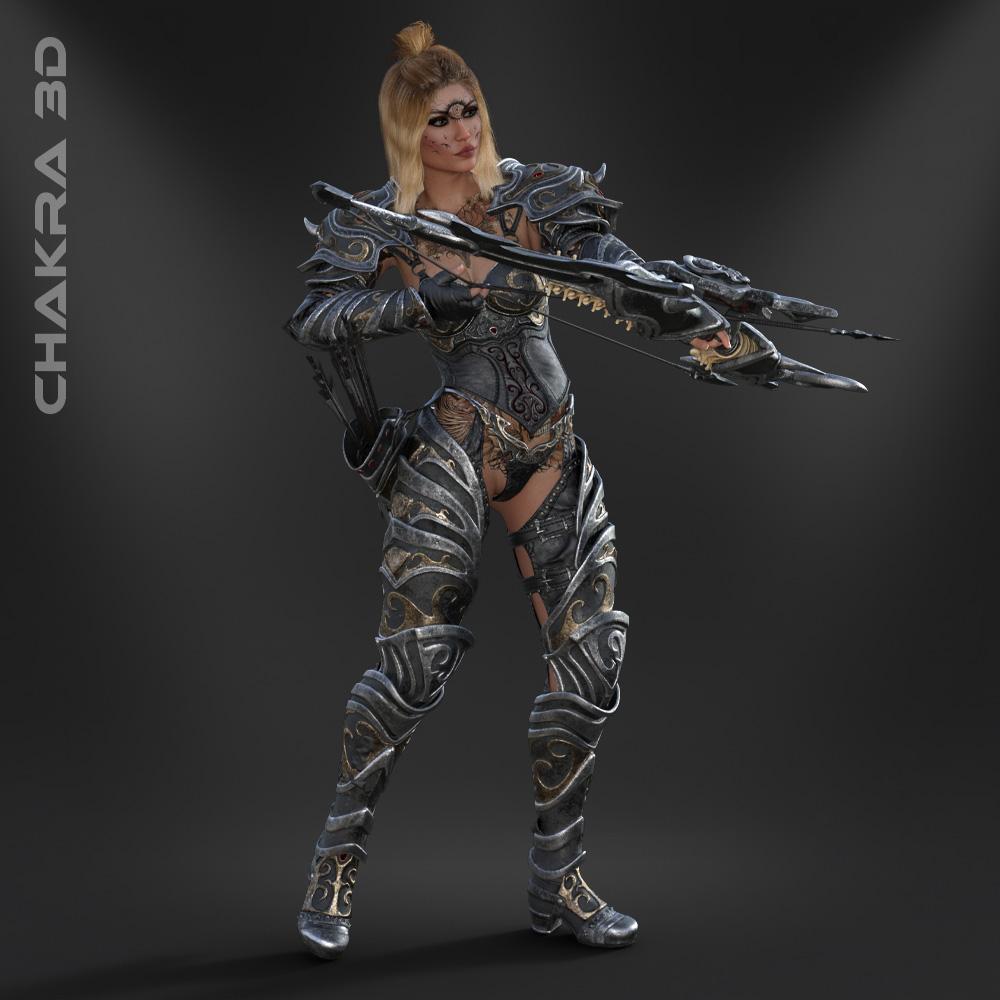 Shibba-Warrior-3D-Character-Unity