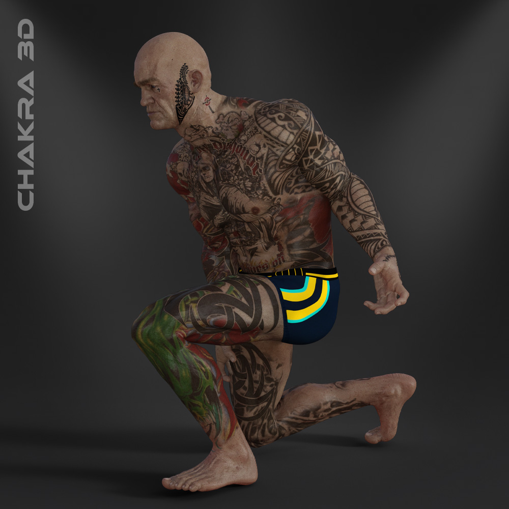 Unity-Game-Character-chakra3d