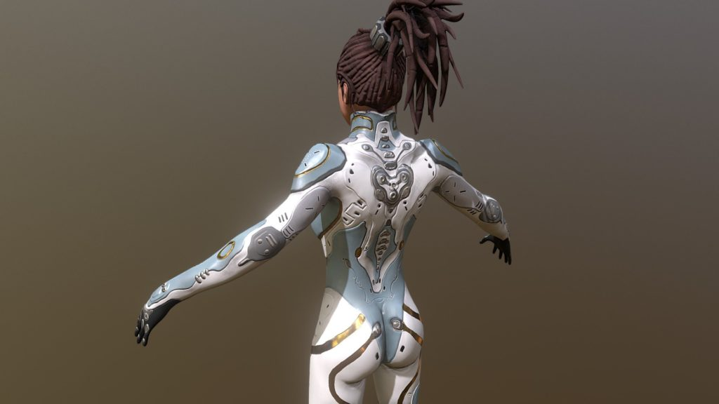 Learn to draw, model in 3D